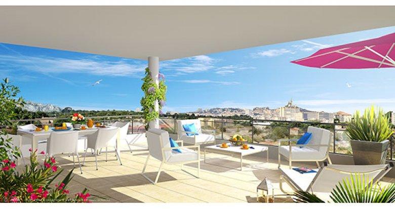 Achat / Vente immobilier neuf Marseille quartier Saint-Jean-du-Désert (13012) - Réf. 1031