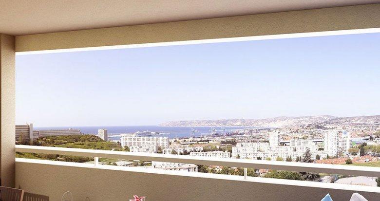 Achat / Vente immobilier neuf Marseille quartier Saint-Louis (13015) - Réf. 1639