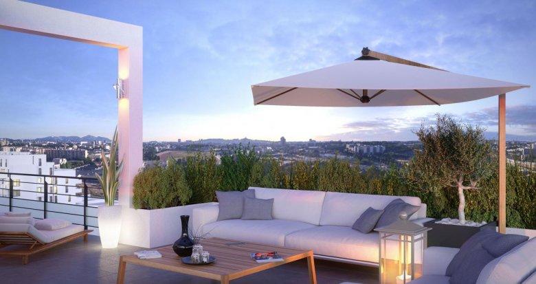 Achat / Vente immobilier neuf Marseille quartier Saint Loup (13010) - Réf. 1371