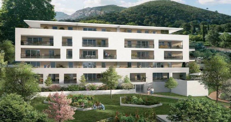Achat / Vente immobilier neuf Marseille secteur Saint-Tronc (13009) - Réf. 4101