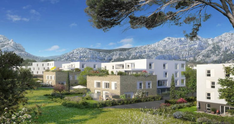 Achat / Vente immobilier neuf Marseille secteur Sormiou (13009) - Réf. 4112