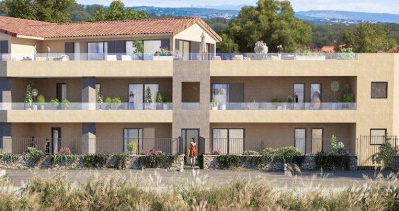 Achat / Vente immobilier neuf Martigues secteur Carro vue mer (13500) - Réf. 5461
