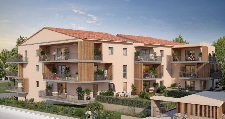 Achat / Vente immobilier neuf Meyrargues à 5 minutes de la gare (13650) - Réf. 6259