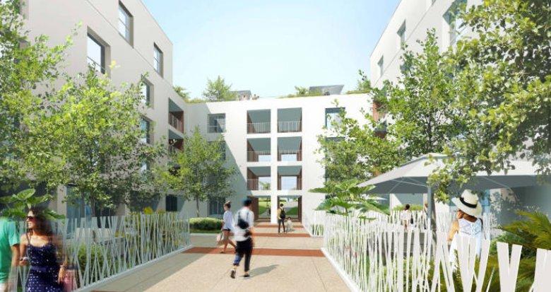 Achat / Vente immobilier neuf Miramas centre-ville médiathèque (13140) - Réf. 3455