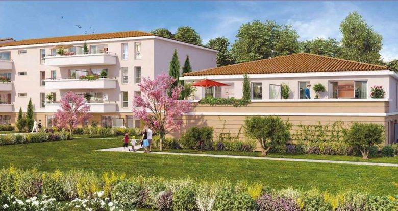 Achat / Vente immobilier neuf Pélissanne proche centre du village (13330) - Réf. 1034