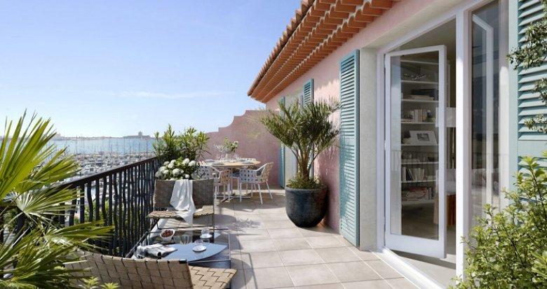 Achat / Vente immobilier neuf Port-de-Bouc au cœur du port de plaisance (13110) - Réf. 5043