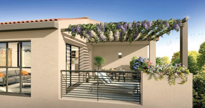 Achat / Vente immobilier neuf Puyricard à 15 min de la fontaine de la Rotonde (13090) - Réf. 1099