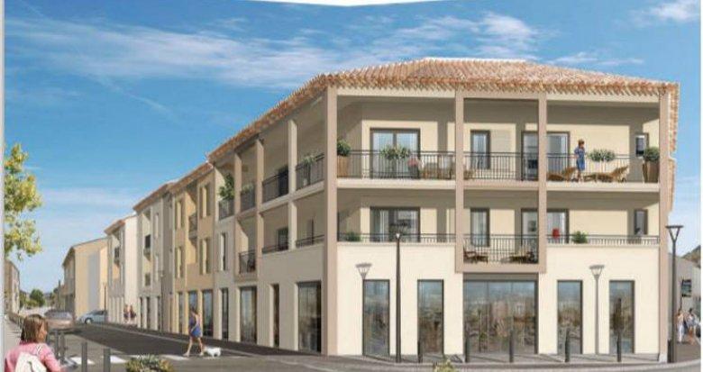 Achat / Vente immobilier neuf Roquefort-la-Bédoule au coeur du centre (13830) - Réf. 5154