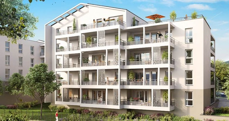 Achat / Vente immobilier neuf Roquevaire, au pied des collines du massif de l'Etoile (13360) - Réf. 1736