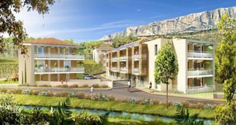 Achat / Vente immobilier neuf Rousset quartier des Tartanes (13790) - Réf. 832