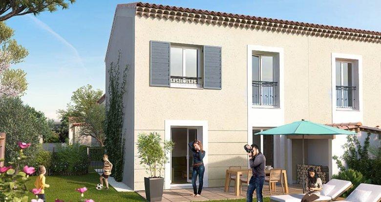 Achat / Vente immobilier neuf Saint-Cannat proche centre-ville (13760) - Réf. 1117