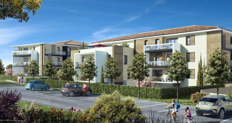 Achat / Vente immobilier neuf Velaux proche du centre du village (13880) - Réf. 6136