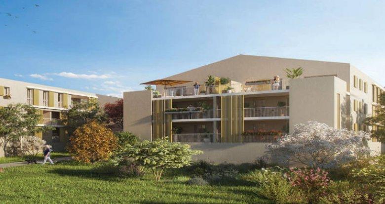 Achat / Vente immobilier neuf Venelles à proximité immédiate du centre du village (13770) - Réf. 5077