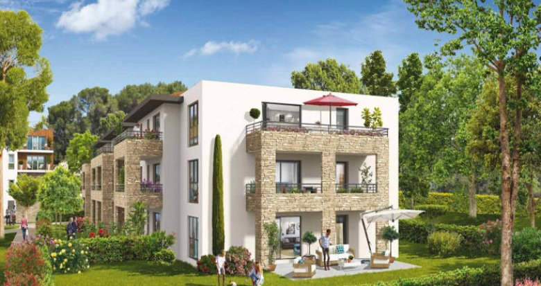 Achat / Vente immobilier neuf Ventabren proche groupe scolaire Edouard Peisson (13122) - Réf. 3856