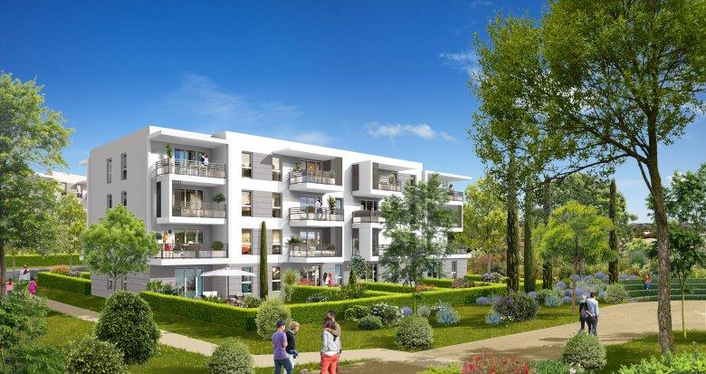 Achat / Vente immobilier neuf Vitrolles face à l'étang de Berre (13127) - Réf. 626