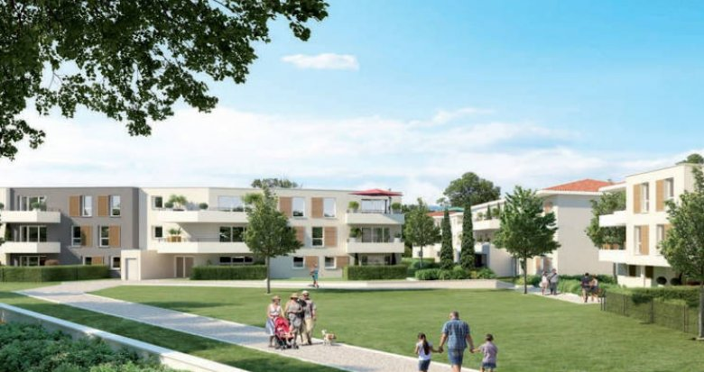 Achat / Vente immobilier neuf Vitrolles proche étang et transports (13127) - Réf. 5068