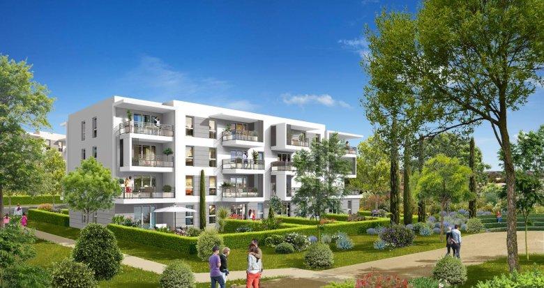 Achat / Vente immobilier neuf Vitrolles proche plage (13127) - Réf. 546